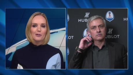 Jose Mourinho talks Manchester United, Match of Friendship SPT_00000623