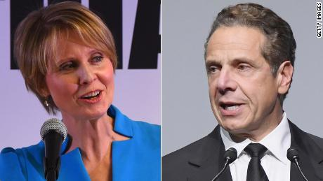 Cuomo leads Nixon by double digits in New York governor's race