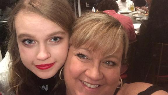 Marjory Stoneman Douglas student Isabela Barry and her mother Meredith