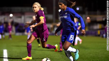 Chelsea Ladies have reached the quarterfinals of the women's Champions League.
