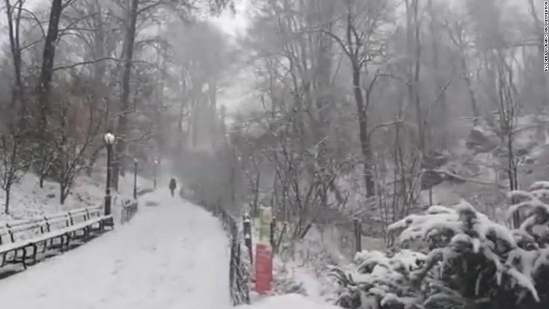 It's official: NYC hasn't seen snow like this in 130 years