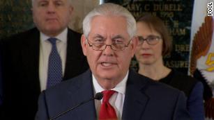 Tillerson calls Washington a 'mean-spirited town' in farewell speech
