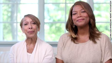 Rita Owens and her daughter, Queen Latifah