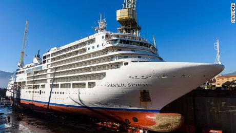 Silver Spirit cruise ship renovation project