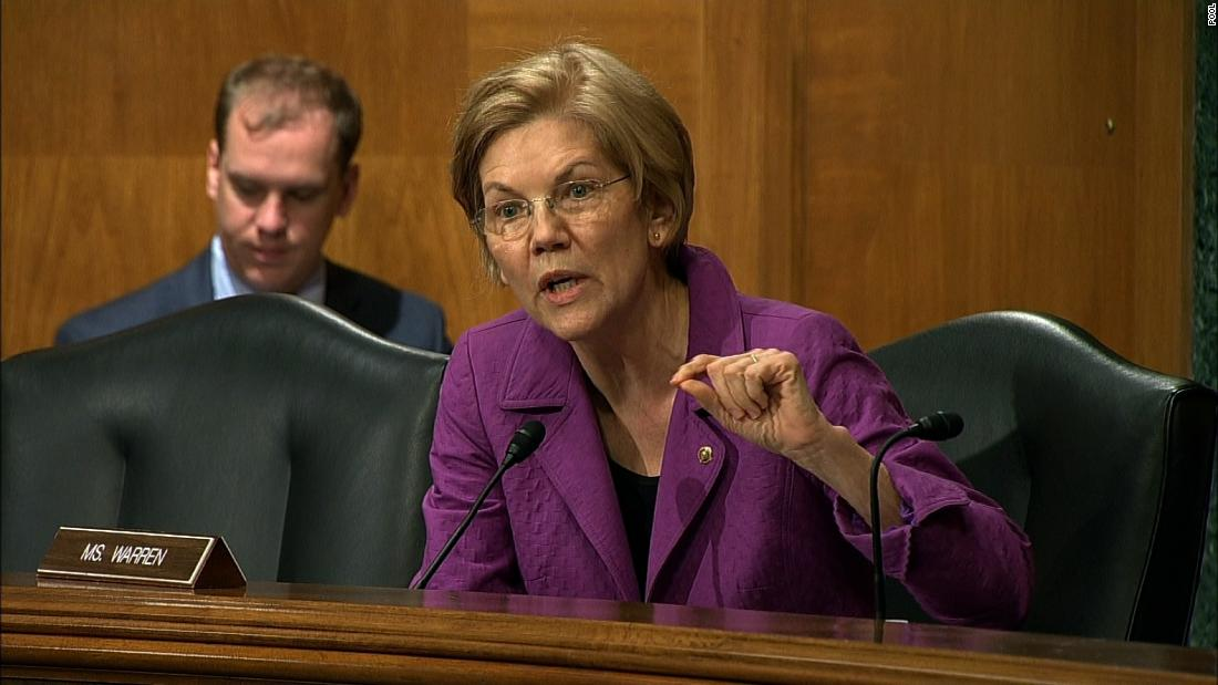 I am a Native American. I have some questions for Elizabeth Warren.