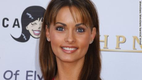 "Karen McDougal during Miramax Films, Archie Comics and Kitson Launch New Apparel Line Featuring ""Betty & Veronica"" at Kitson Retail Store in Beverly Hills, California, United States. (Photo by Gregg DeGuire/WireImage)"