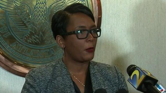 GA:Mayor Bottoms on Atlanta cyber attack    Affiliate Embargo:  WGCL; Atlanta, GA    Additional Embargo:      Notes and Restrictions:            Additional Source(s):        Date Shot:  3/22/2018      Shipping/Billing Info:         Description:  Elements:  raw live presser     Wire/StoryDescription:  Station Notes/Scripts:      Projects:  None    Cost Center:  Atlanta National Desk / 20100101      Created By:  DHackett    On:  1521750941    --------------------------------------------------------------------------------