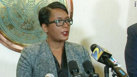 atlanta mayor keisha lance bottoms ransomware attack