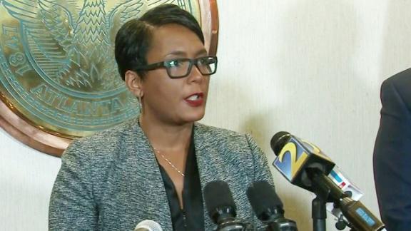 atlanta mayor keisha lance bottoms ransomware attack
