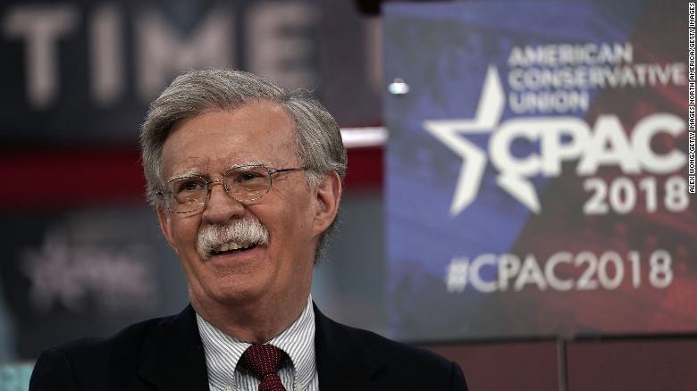 Bolton: My past comments are behind me