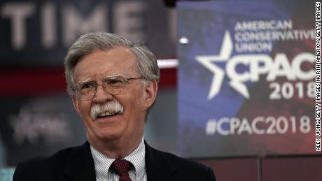 NATIONAL HARBOR, MD - FEBRUARY 22:  Former U.S. Ambassador to the United Nations John Bolton speaks during CPAC 2018 February 22, 2018 in National Harbor, Maryland. The American Conservative Union hosted its annual Conservative Political Action Conference to discuss conservative agenda.  (Photo by Alex Wong/Getty Images)
