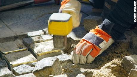 "Demnig has installed more than 67,000 ""stumbling stones."""