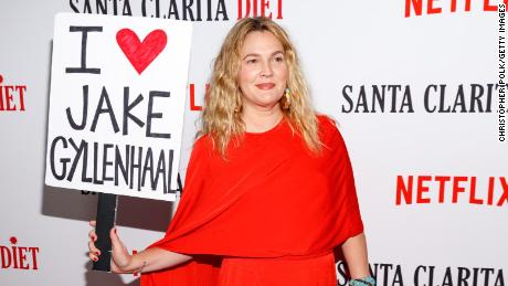 Drew Barrymore attends Netflix's 'Santa Clarita Diet' Season 2 Premiere at The Dome at Arclight Hollywood on March 22, 2018 in Hollywood, California.