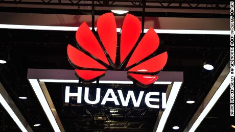 LAS VEGAS, NV - JANUARY 09:  The Huawei logo is display during CES 2018 at the Las Vegas Convention Center on January 9, 2018 in Las Vegas, Nevada. CES, the world's largest annual consumer technology trade show, runs through January 12 and features about 3,900 exhibitors showing off their latest products and services to more than 170,000 attendees.  (Photo by David Becker/Getty Images)