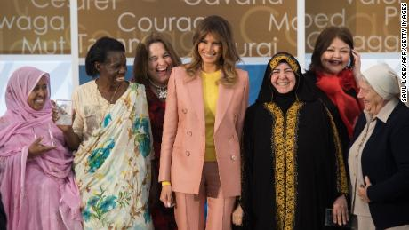 Melania Trump honors International Women of Courage at State Dept.