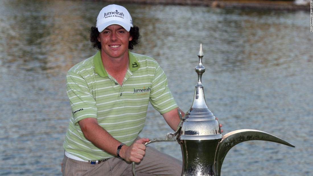 <strong>Professional breakthrough: </strong> He delayed turning pro until after the Walker Cup, the amateur version of the Ryder Cup, in September 2007. He won his first pro event at the 2009 Dubai Desert Classic.