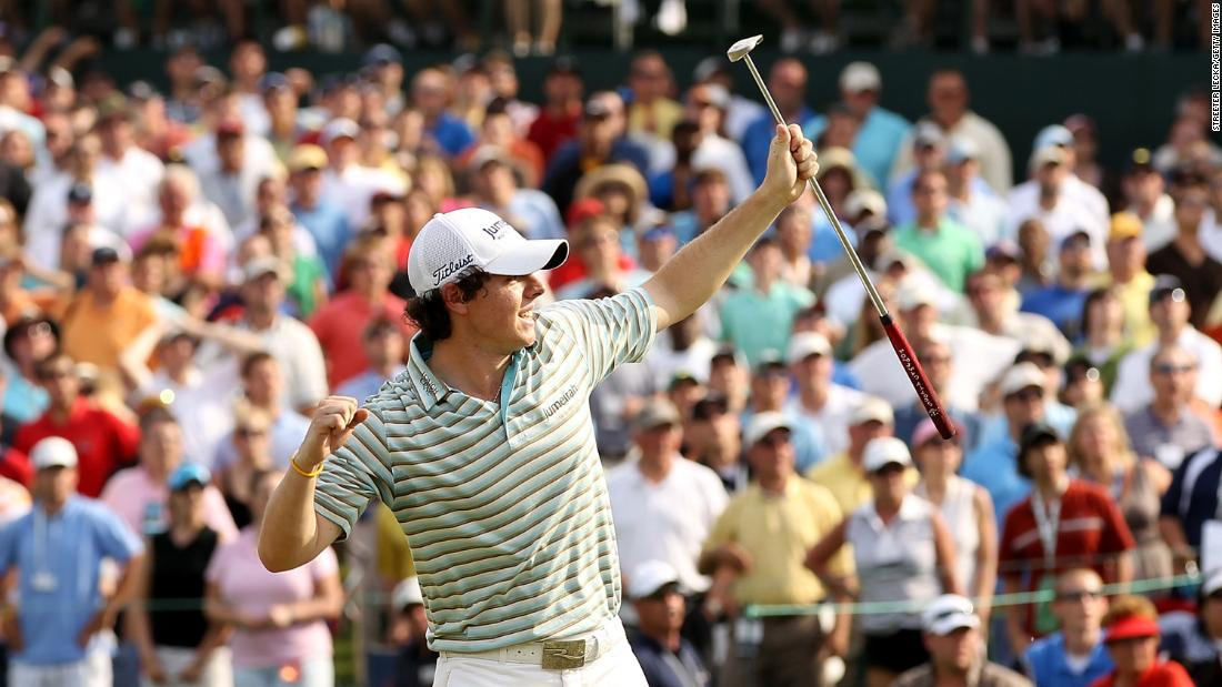 <strong>Breaking America: </strong>His first win in the US came at the Quail Hollow Championship in May 2010.