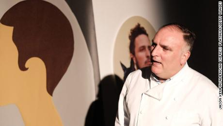 Jose Andres attends FOOD MEETS ART, hosted by Jose Andres for American Express Platinum Card Members at the SLS South Beach Hotel on December 8, 2017 in Miami, Florida.