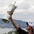 Rory McIlroy profile US Open trophy Holywood