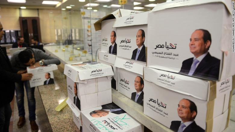Voters have few options in Egypt