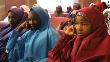 Freed Dapchi girl: Boko Haram said 'don't go back to school'