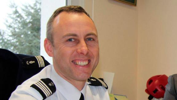 Lt. Col. Arnaud Beltrame, here in 2013, was hailed as a hero by authorities.
