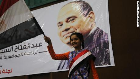 Life is hard in Sisi's Egypt, but voters have little choice