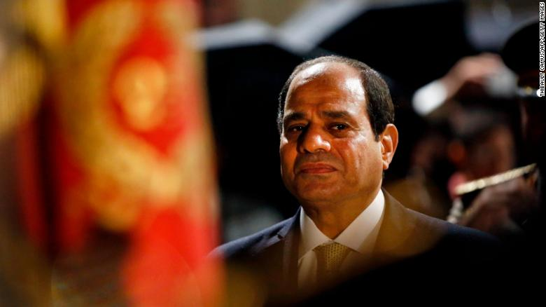 Egyptian president runs with little contest