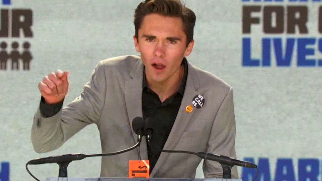 David Hogg will take a gap year before college to work on the midterm elections