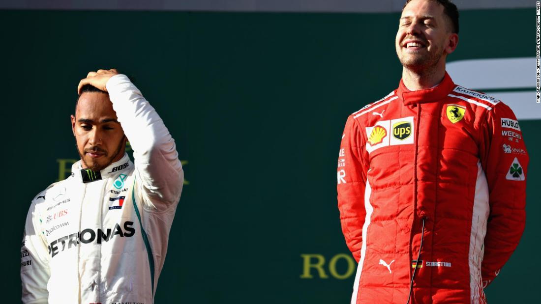 Lewis Hamilton as a teammate? Sebastian Vettel prefers Kimi Raikkonen - CNN