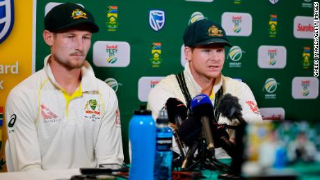 Smith and Bancroft admitted during a post-match press conference that they'd conspired to scuff the ball in an attempt to gain an unfair advantage.