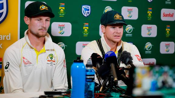 Smith and Bancroft admitted during a post-match press conference that they