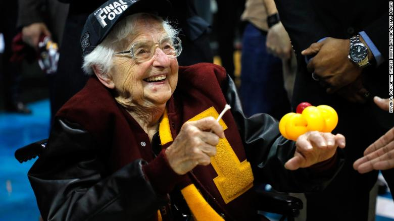Sister Jean is the star of the NCAA tournament