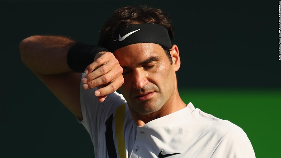 Federer said he would reveal his 2018 clay-court plans after the Miami Open and following his loss Saturday to Thanasi Kokkinakis, said he wouldn't compete at Roland Garros.