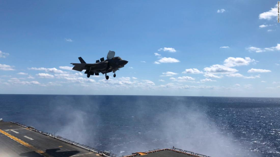 US shows off new F-35 fighter jets ahead of US-South Korea