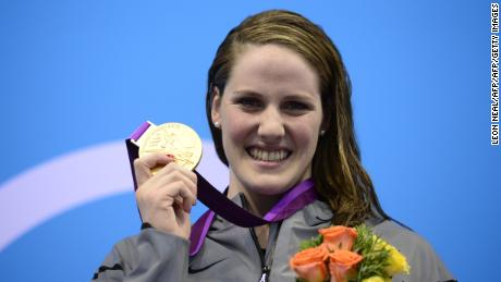 Missy Franklin took an astonishing four golds at London 2012, at the age of 17.