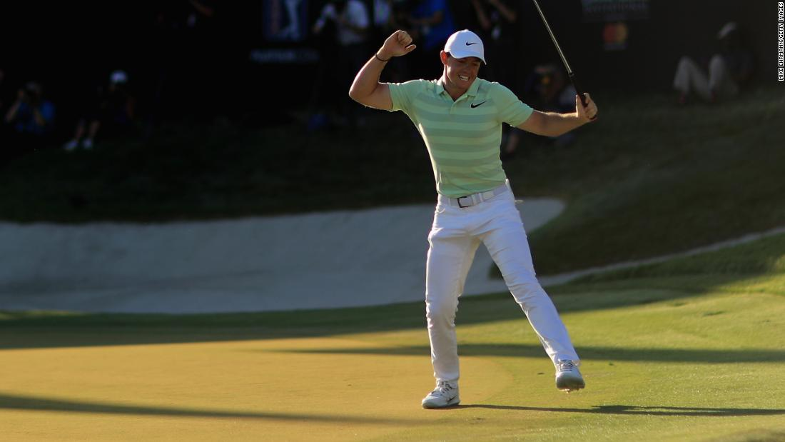 <strong>Comeback kid: </strong>After a 2017 disrupted by injury, a refreshed Rory hit back with victory in the Arnold Palmer Invitational at Bay Hill in March 2018, his first title since winning the Tour Championship in 2016.