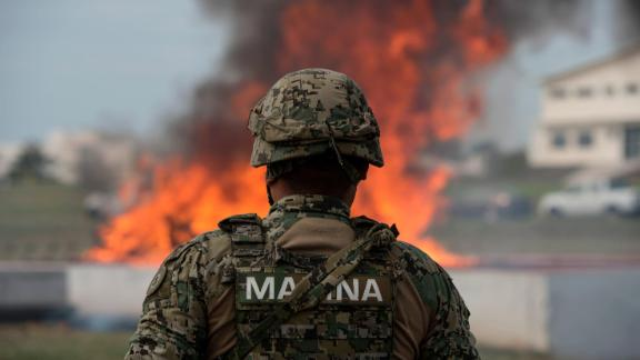 Mexico has been locked in a war on drugs since 2006.