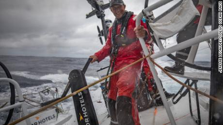 John Fisher was washed overboard and is presumed lost at sea during the Volvo Ocean Race.