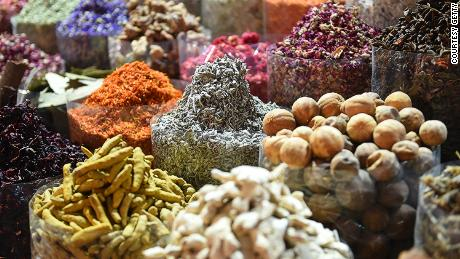 DUBAI, UNITED ARAB EMIRATES - JANUARY 04: Spices are pictured on January 4, 2017 in Dubai, United Arab Emirates.  (Photo by Tom Dulat/Getty Images)