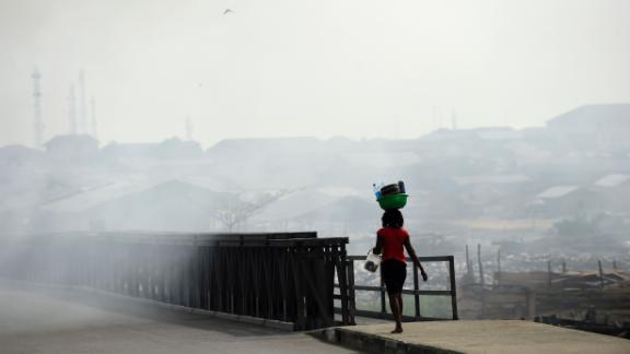 """The air is thick with the soot,"" Ezekwesili said."