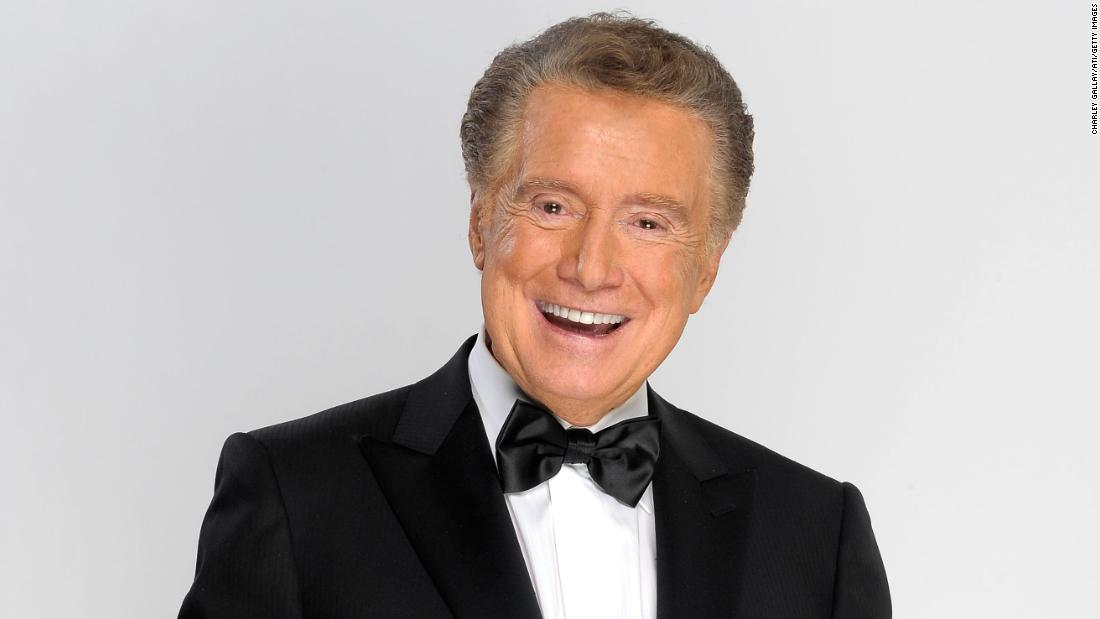 Regis Philbin poses for a portrait at the 37th Annual Daytime Entertainment Emmy Awards held in Las Vegas, Nevada, on June 27, 2010.
