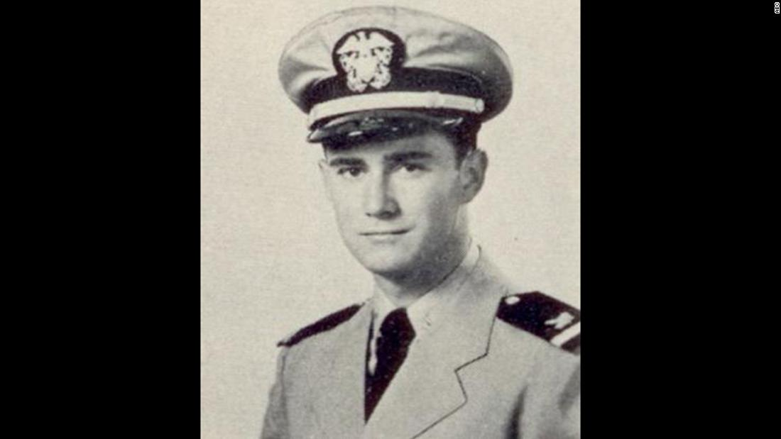 Regis Philbin in a photo from his time in the US Navy circa 1953.