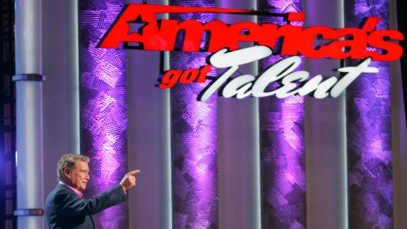 """Regis Philbin hosted the first season in 2006 of NBC's """"America's Got Talent."""""""