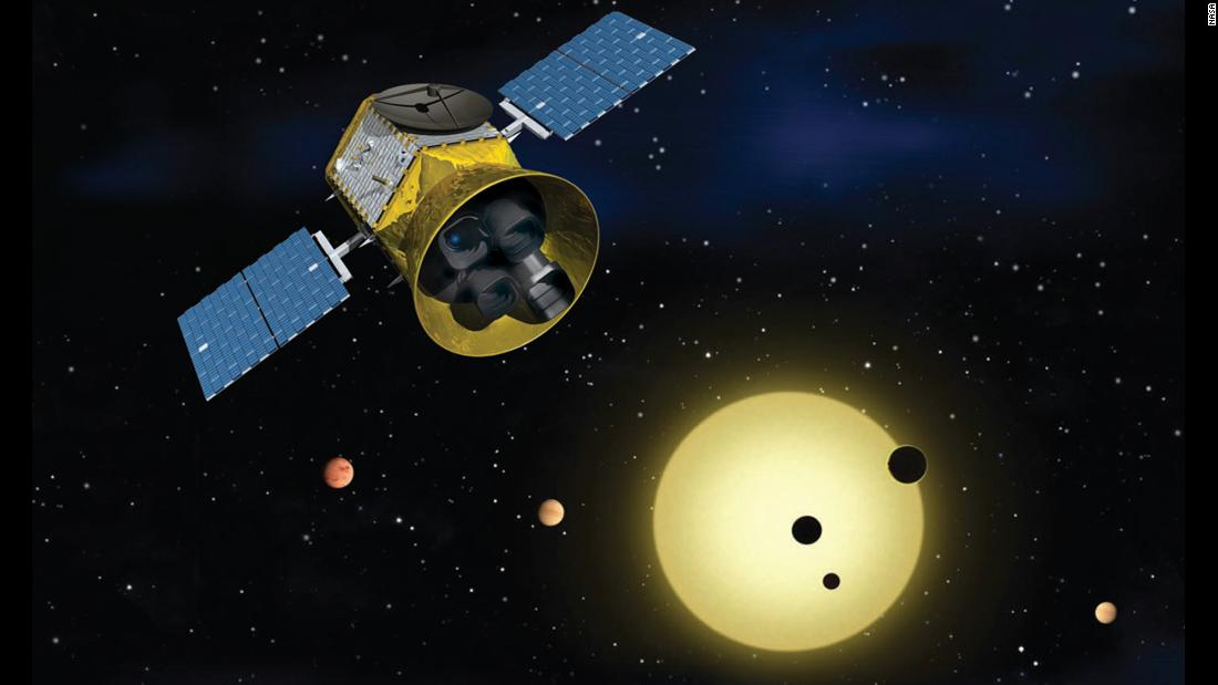 NASA's Transiting Exoplanet Survey Satellite (TESS) will identify exoplanets orbiting the brightest stars just outside our solar system.