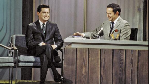 Regis Philbin during an appearance on The Joey Bishop Show in April 1968.