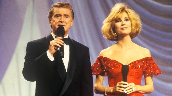Regis Philbin and Kathy Lee Gifford hosting the 1994 Miss America Pageant in Atlantic City, New Jersey.