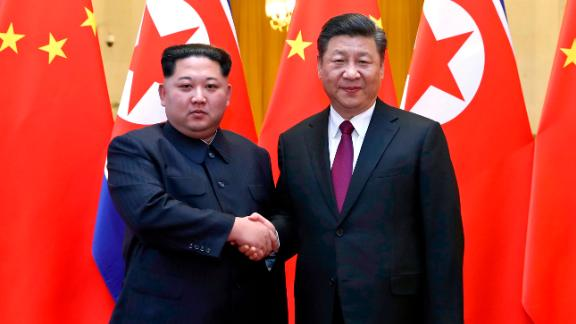In this photo provided Wednesday, March 28, 2018, by China