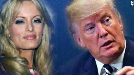 Here's exactly why Donald Trump finally answered a question about Stormy Daniels