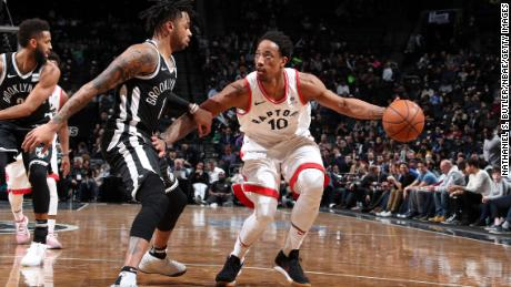 DeMar DeRozan and the Raptors are aiming for their first trip to the NBA Finals.